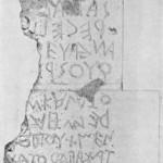 Ankstyvojo rašto pavyzdys rastas Italijos teritorijoje