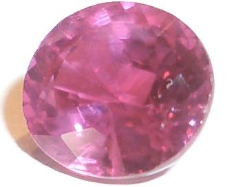 Šlifuotas rubinas