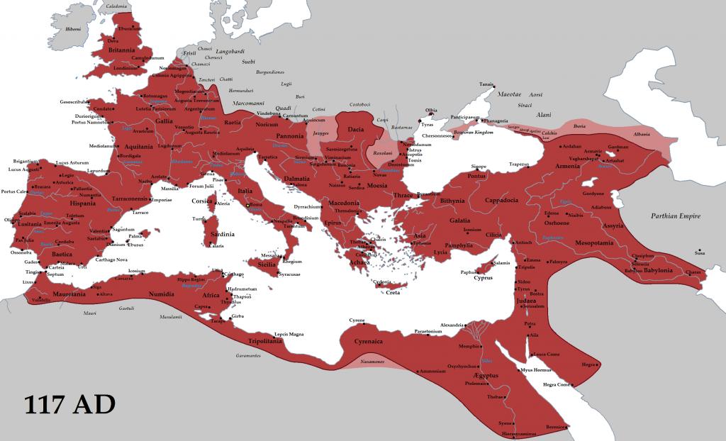Romos imperijos valdos jos klestėjimo laikais