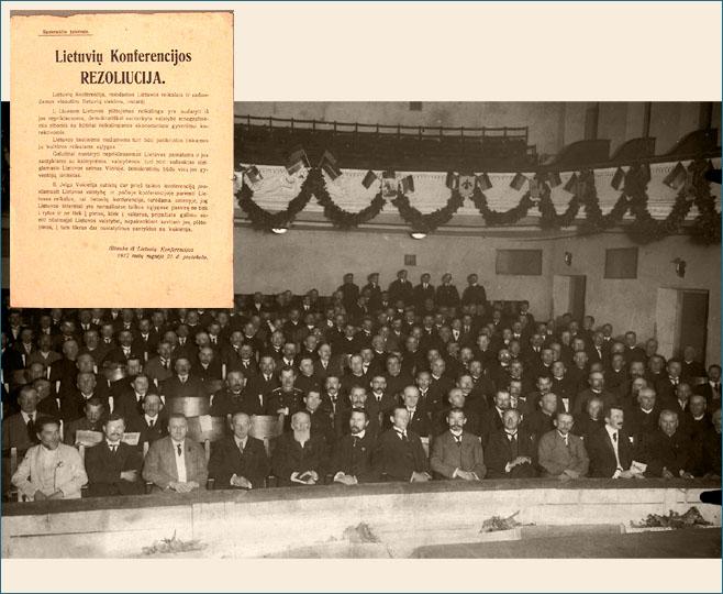 Lietuvių konferencija Vilniuje 1917 m.