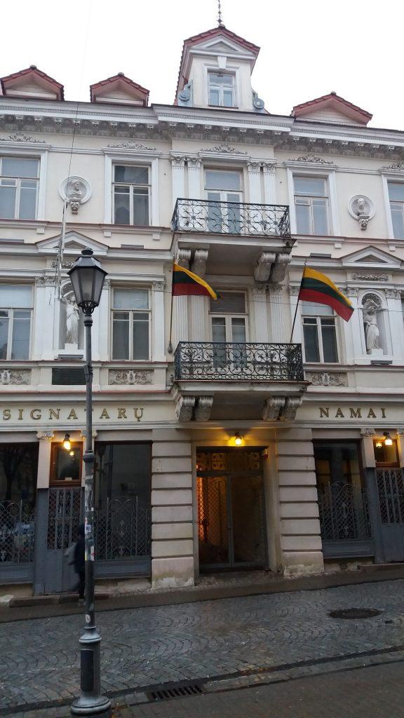 Pastatas, kuriame 1918 m. vasario 16 d. buvo paskelbtas Lietuvos Nepriklausomybės aktas