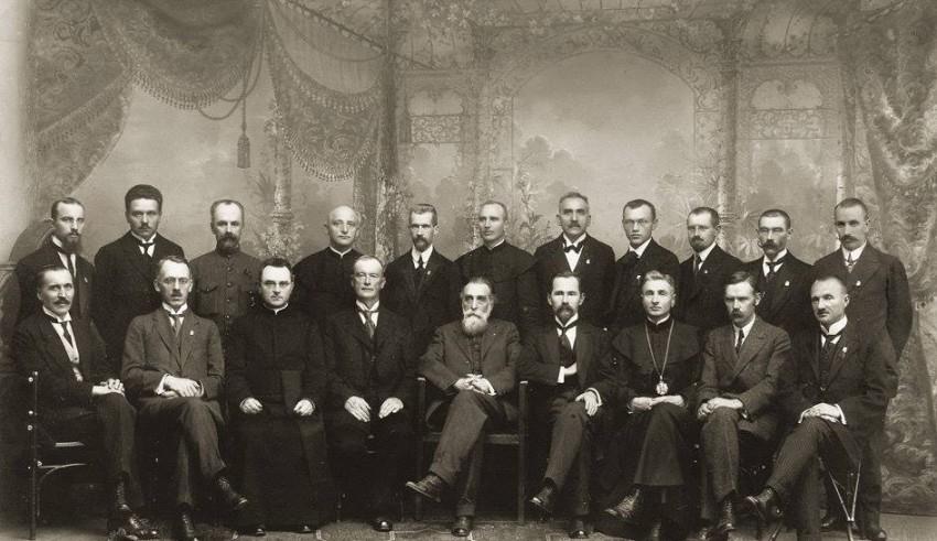 1918 m. Vasario 16 d. Akto signatarai