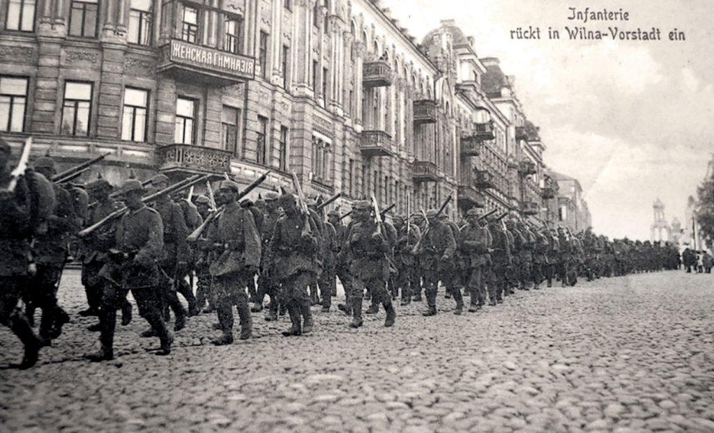 Vokiečių kariuomenė Vilniuje XX a. pradžioje